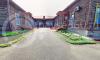 Двор школы, в которой учился В.М. шукшин