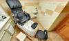 Педикюрный кабинет в салоне красоты Краса