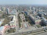 Центр Барнаула с высоты птичьего полета